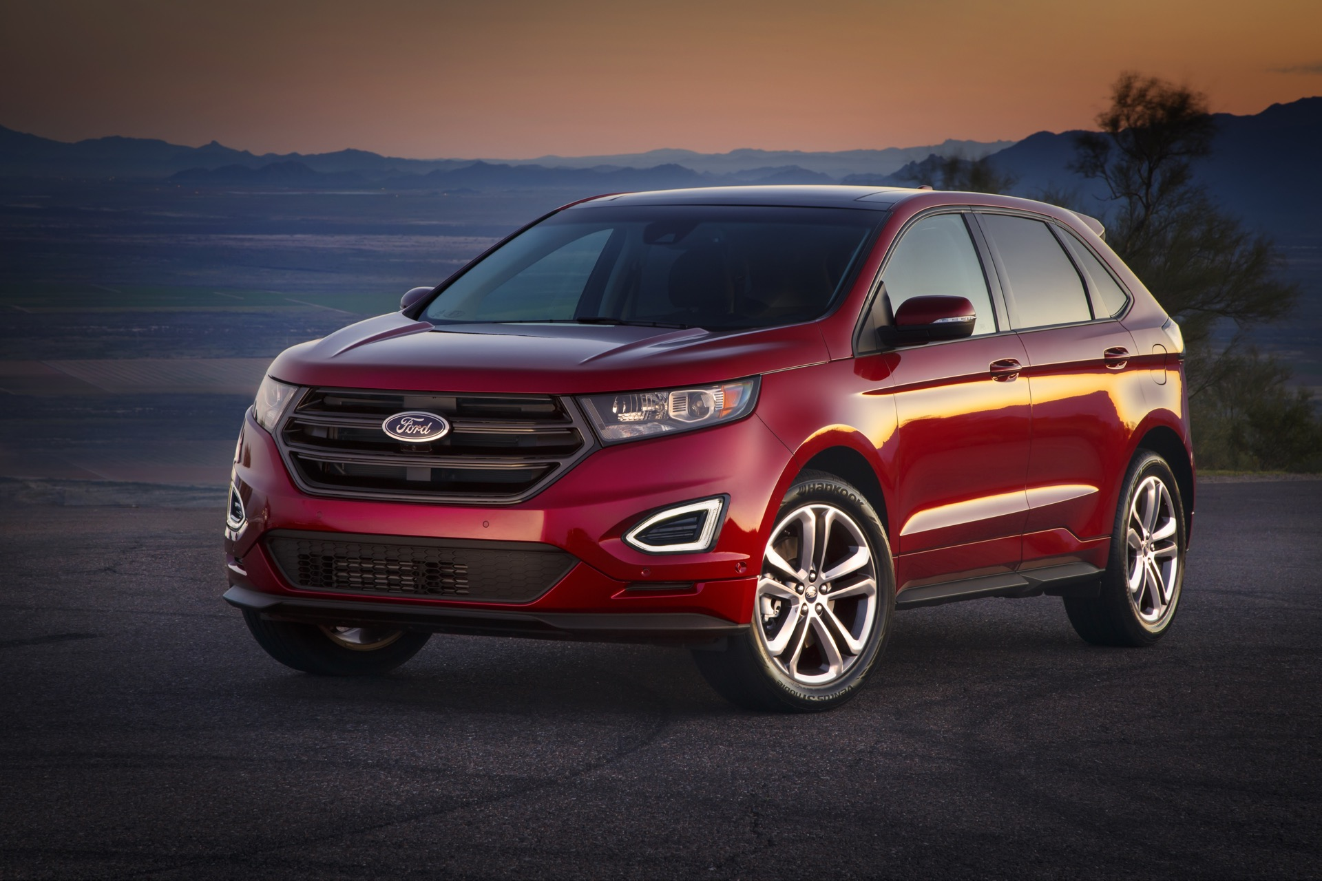 2016 ford edge styling review the car connection. Black Bedroom Furniture Sets. Home Design Ideas