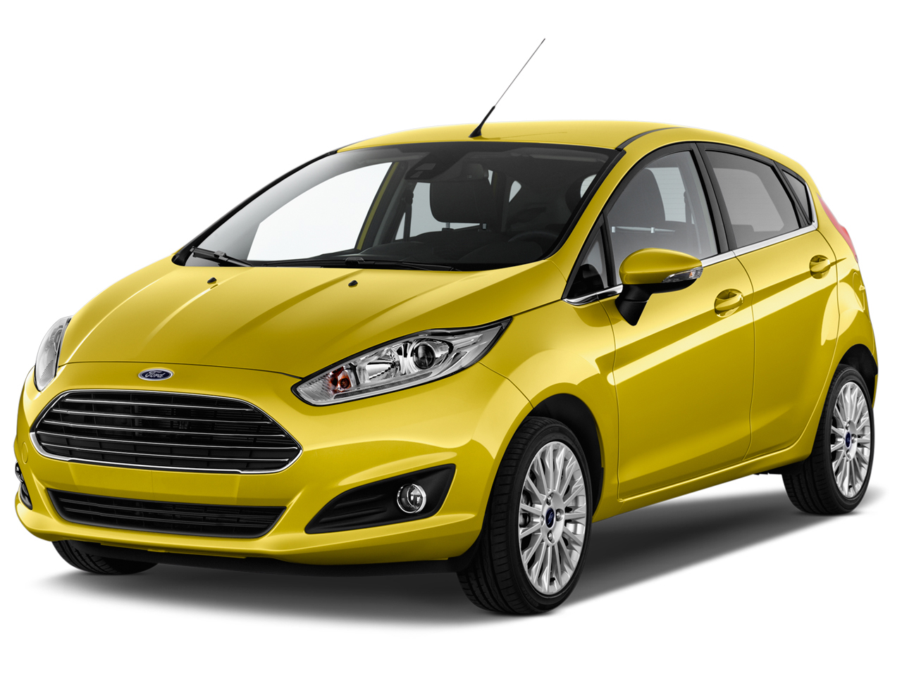 2016 Ford Fiesta 5dr Hb S Angular Front Exterior View
