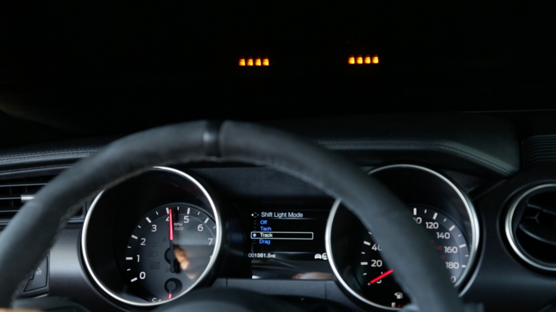 Ford Mustang Shelby Gt350 Head Up Display Comes With