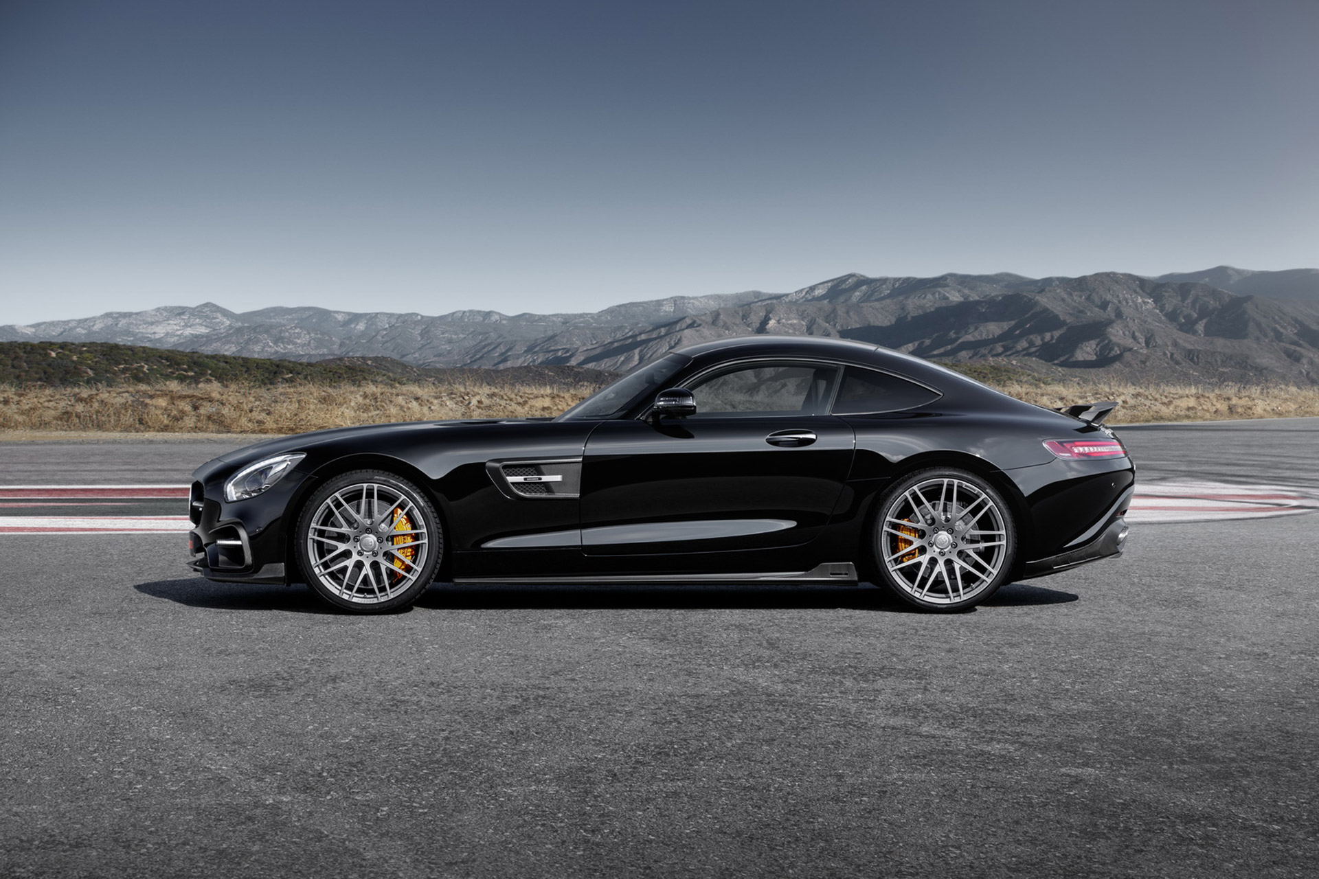Brabus Extracts 600 Horsepower From The Mercedes Amg Gt S