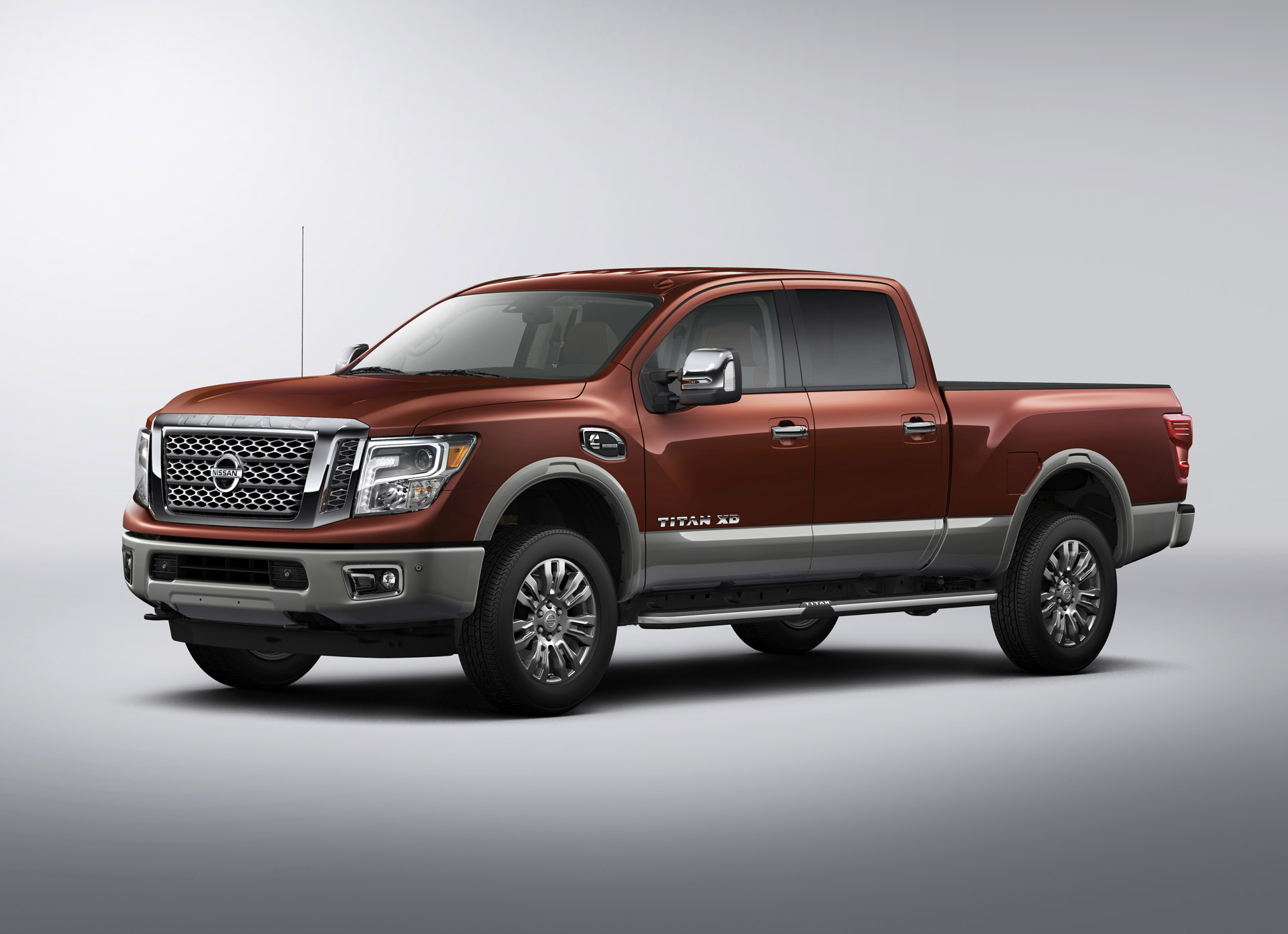 2016 nissan titan xd priced from 41 485. Black Bedroom Furniture Sets. Home Design Ideas