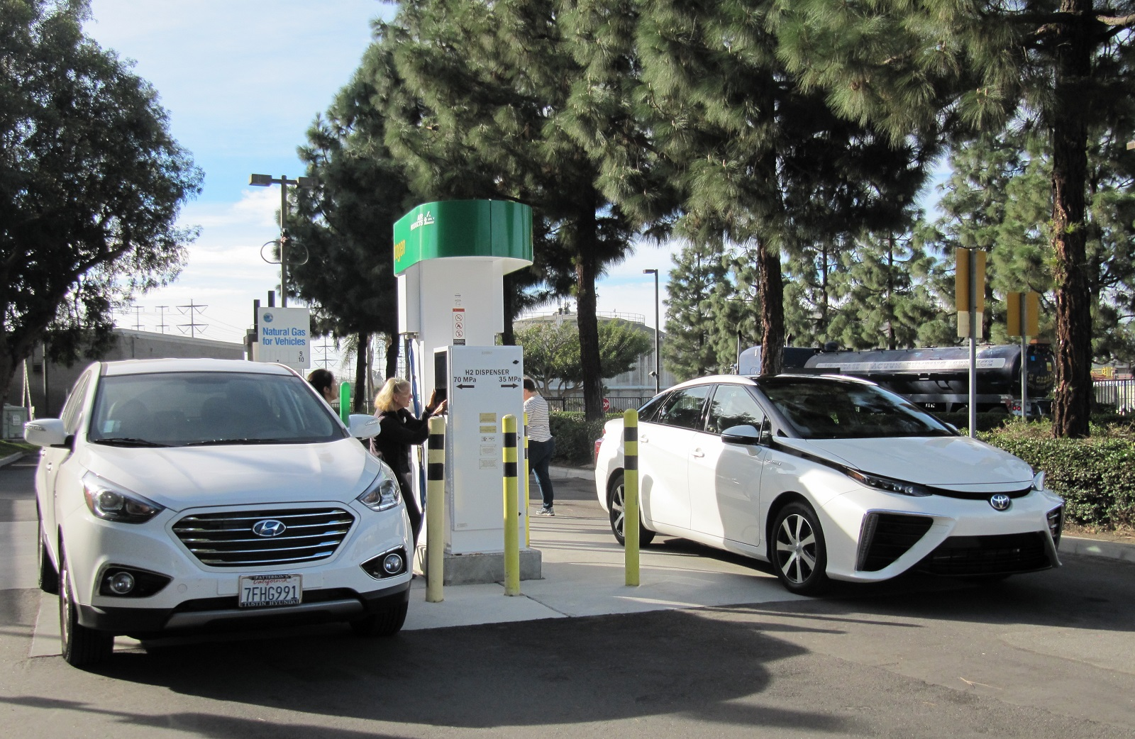 Hydrogen Stations In California How Many Needed As Fuel