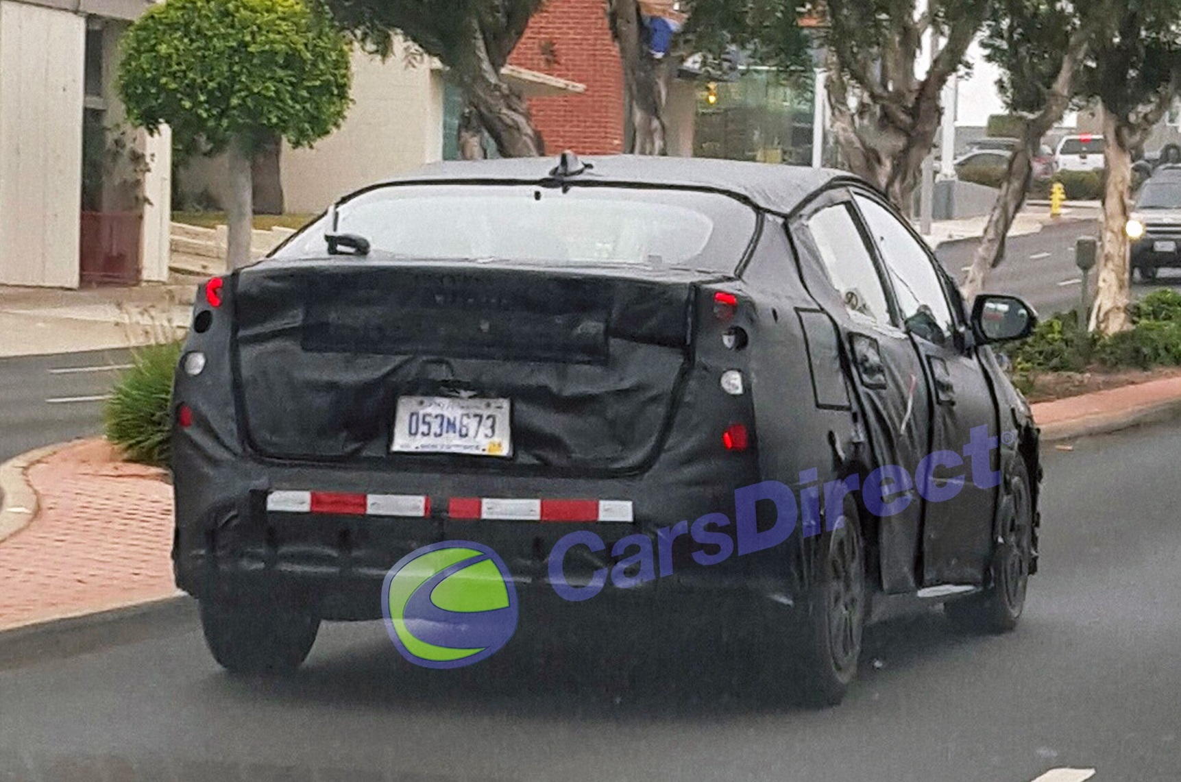 2016 Toyota Prius Hybrid Clearer Spy Shot Of High Tailed Rear