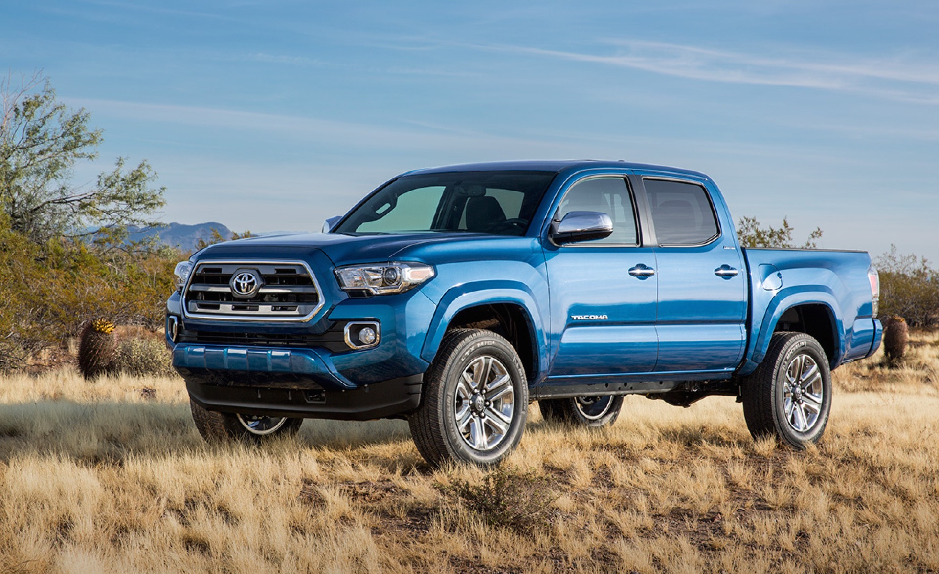 2016 Toyota Tacoma First Look At Redesigned Mid Size Truck