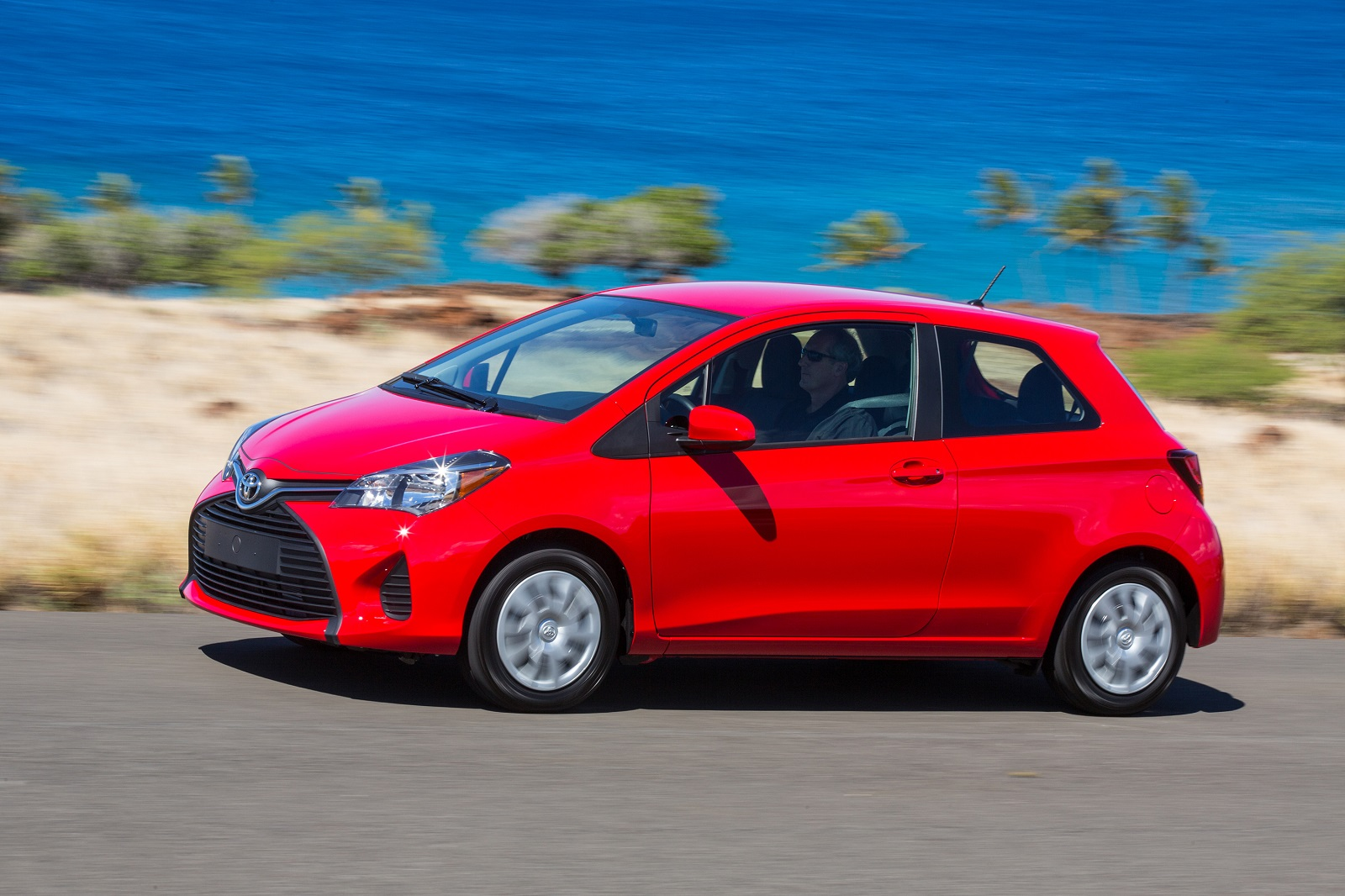 2016 toyota yaris review ratings specs prices and photos the car connection. Black Bedroom Furniture Sets. Home Design Ideas