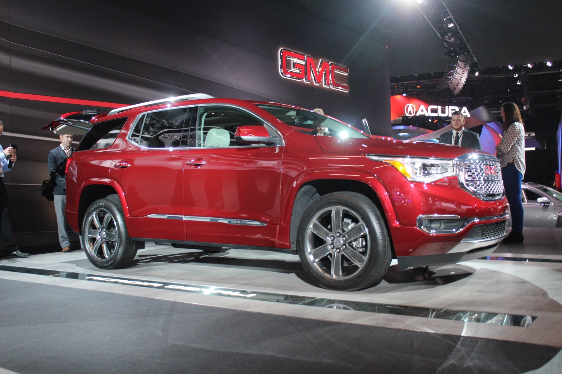 2017 gmc acadia preview video. Black Bedroom Furniture Sets. Home Design Ideas