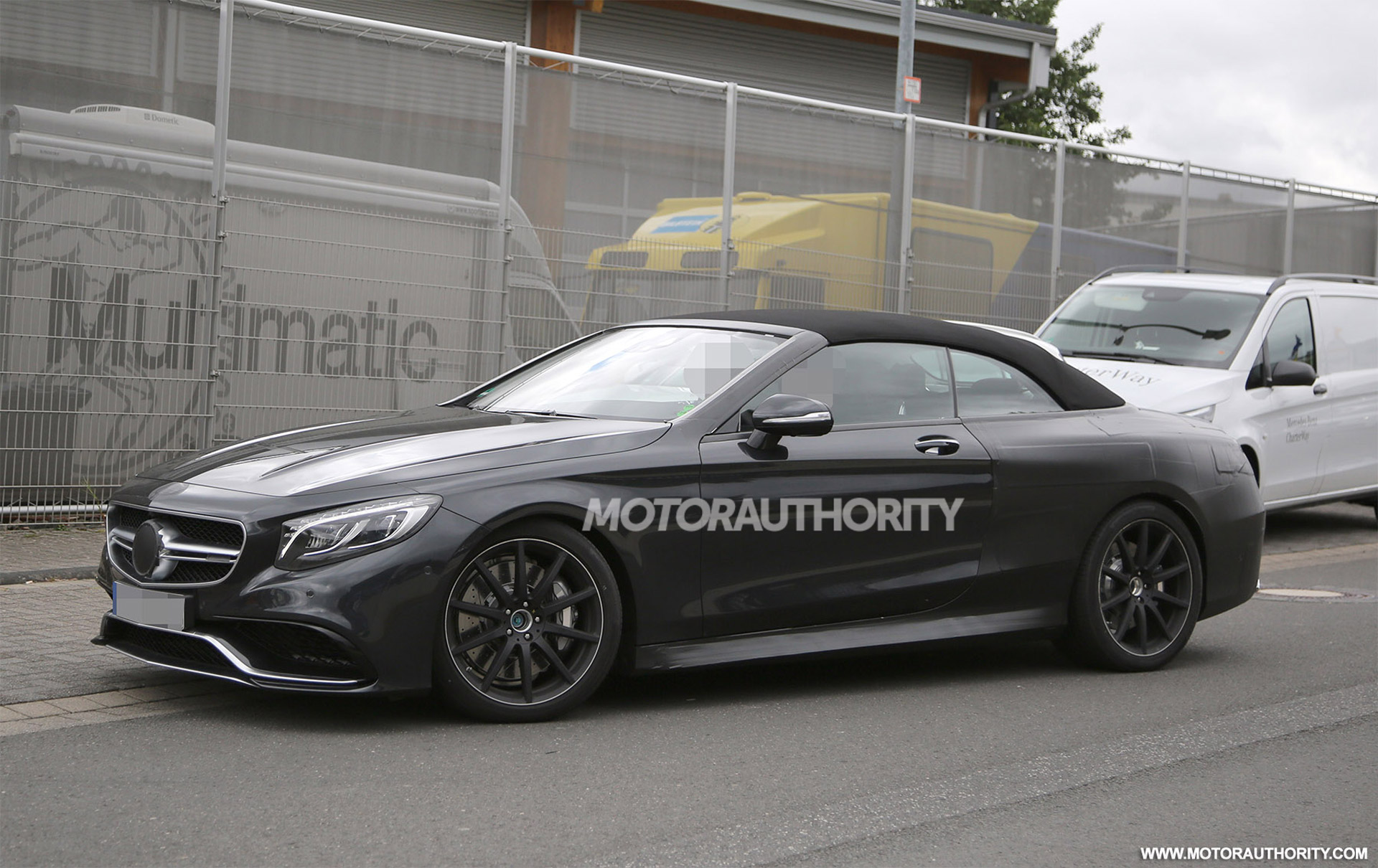 2017 Mercedes-AMG S63 Cabriolet Spy Shots