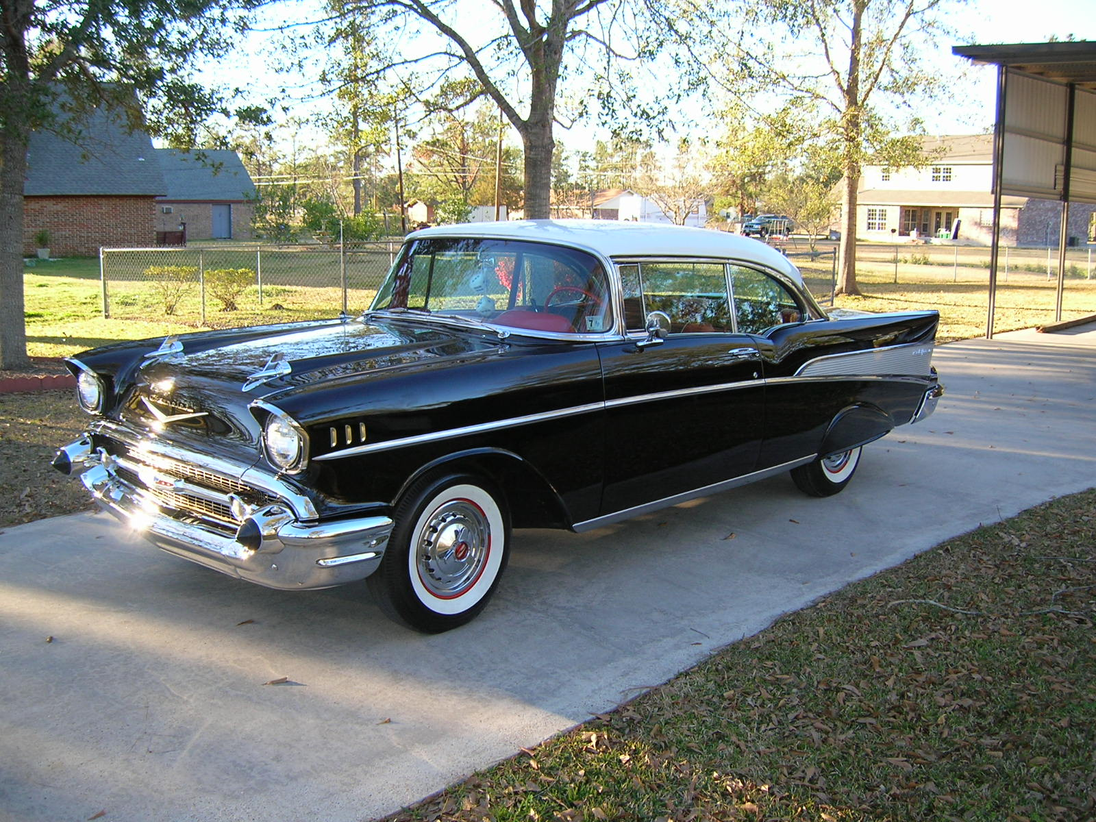 Dr Phil S 1957 Chevy Bel Air Stolen In California
