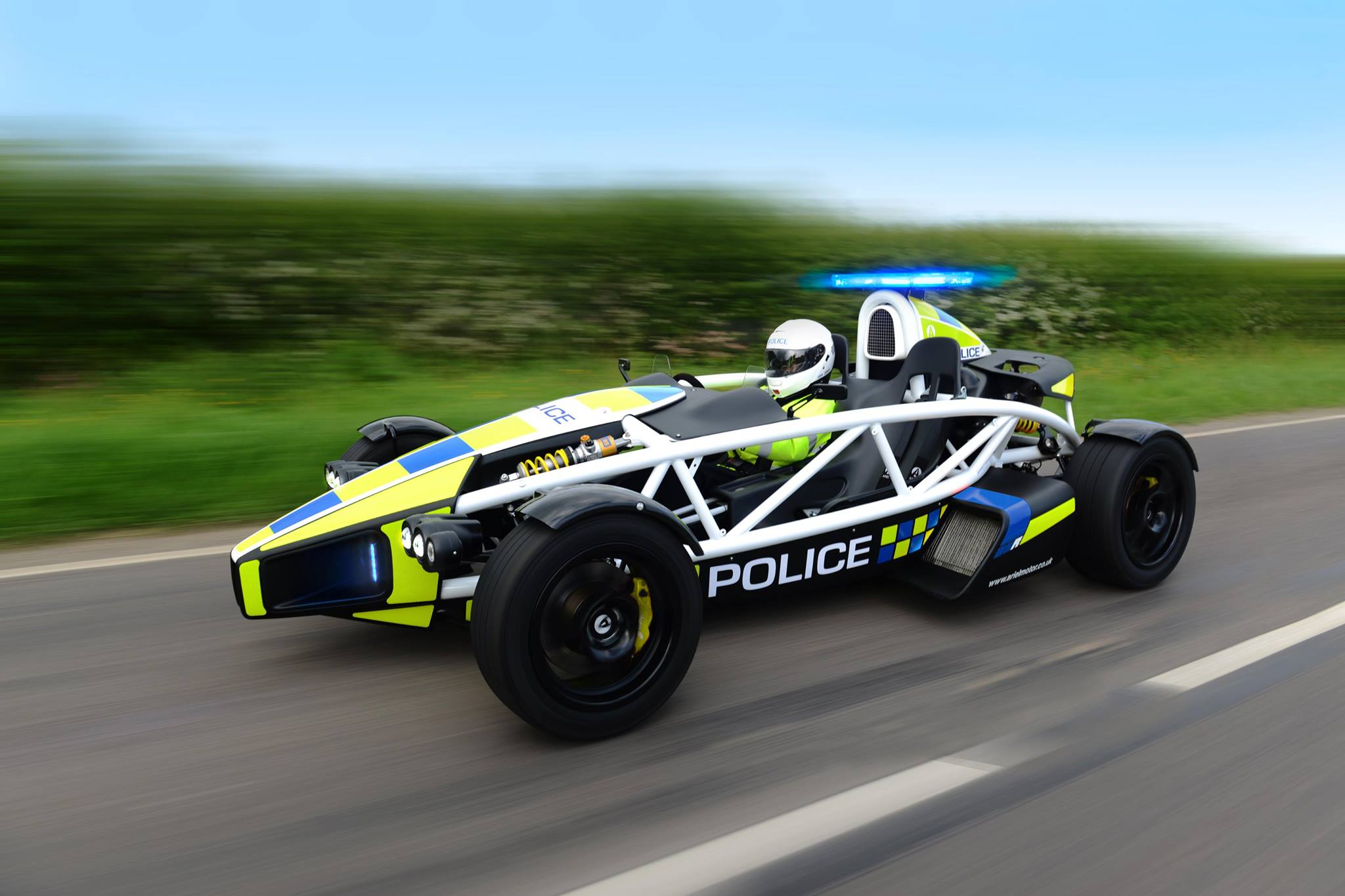 don 39 t try and outrun this ariel atom police car. Black Bedroom Furniture Sets. Home Design Ideas