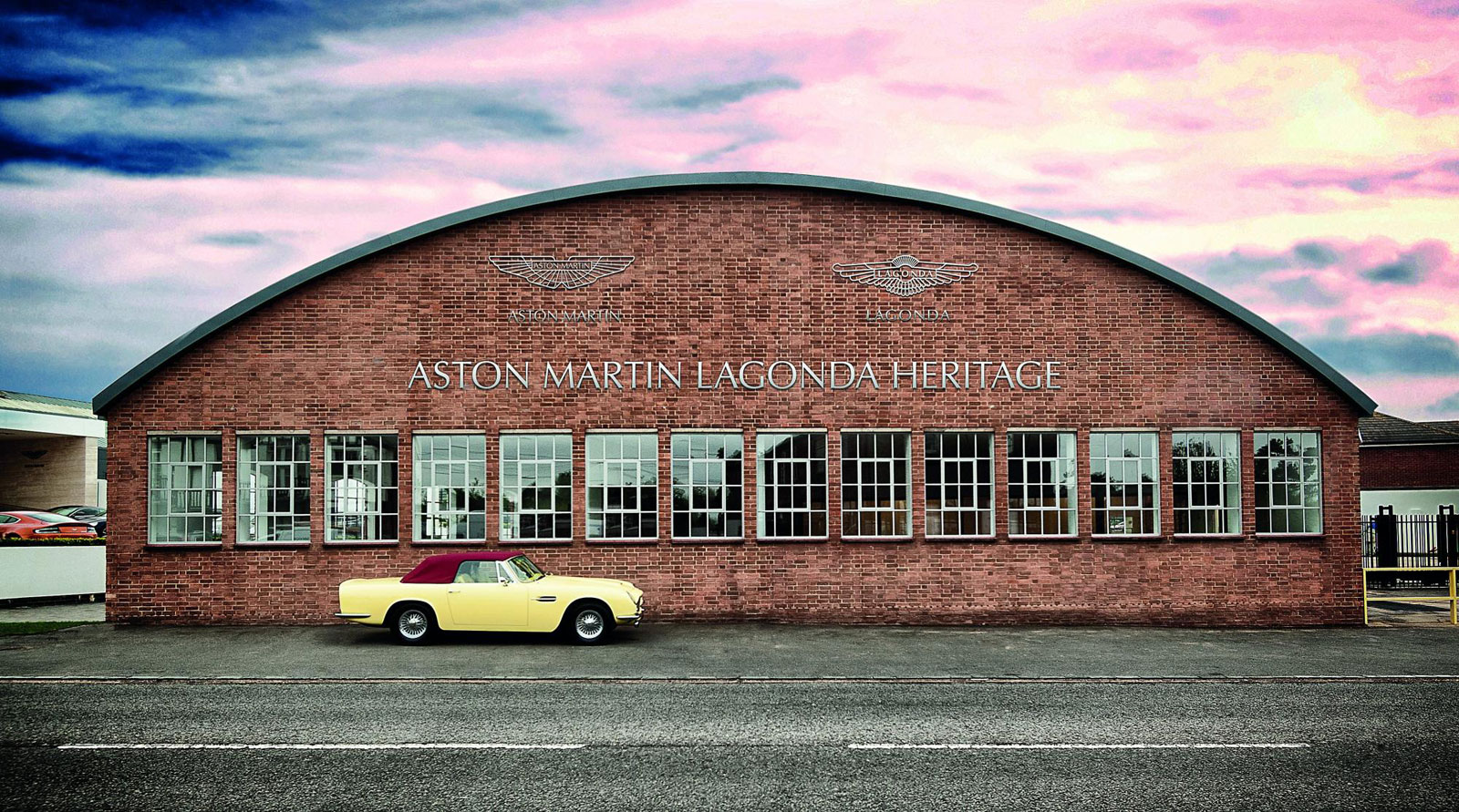 Take A Video Tour Of The Aston Martin Works