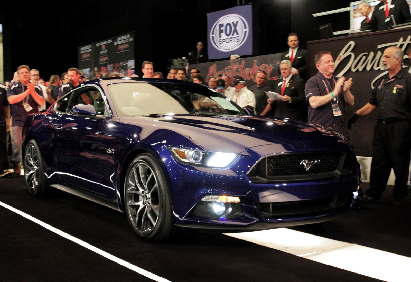 First 2015 Ford Mustang Gt Sells For 300 000 At Auction