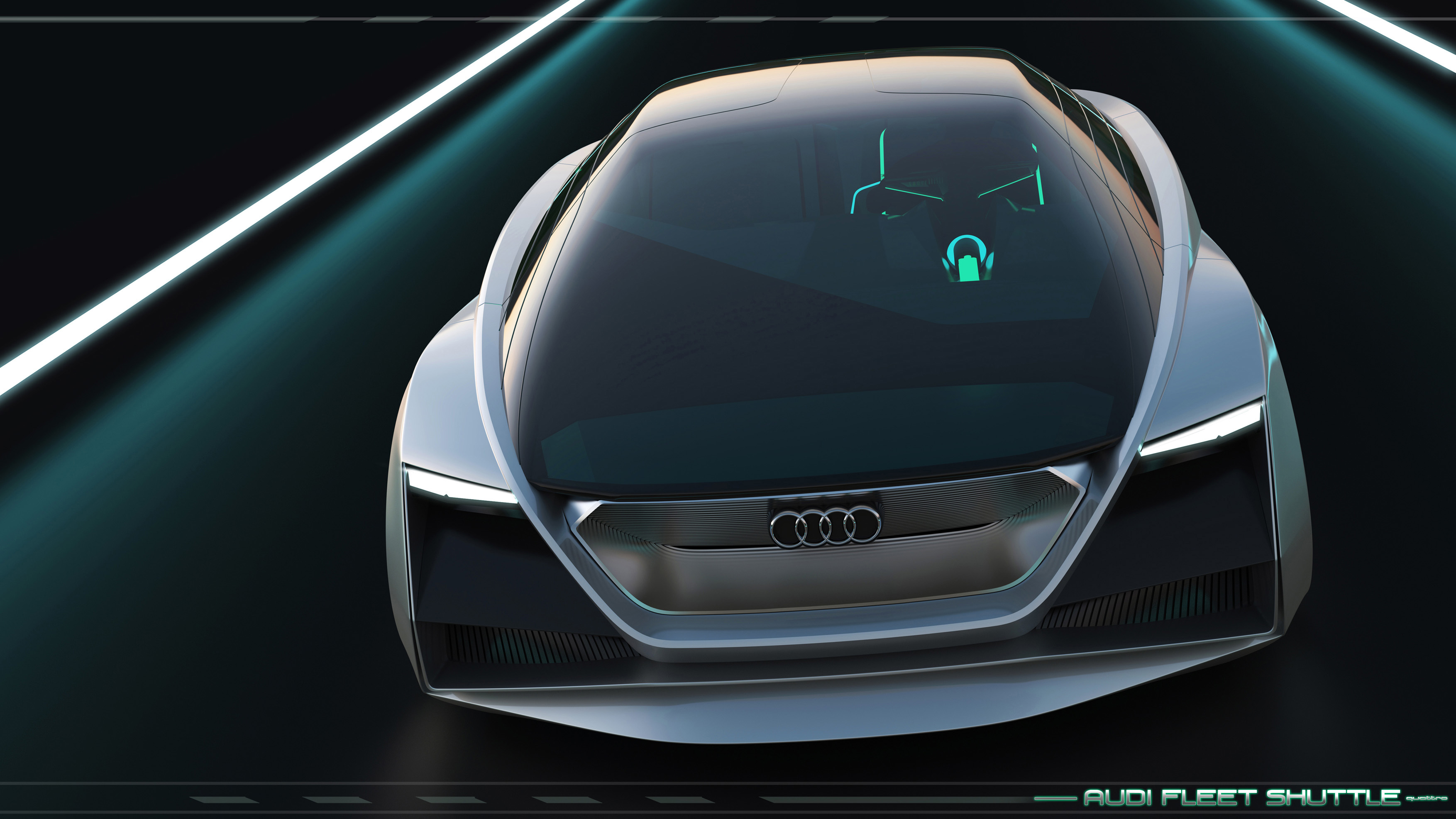 audi fleet shuttle quattro sci fi concept debuts in 39 ender. Black Bedroom Furniture Sets. Home Design Ideas