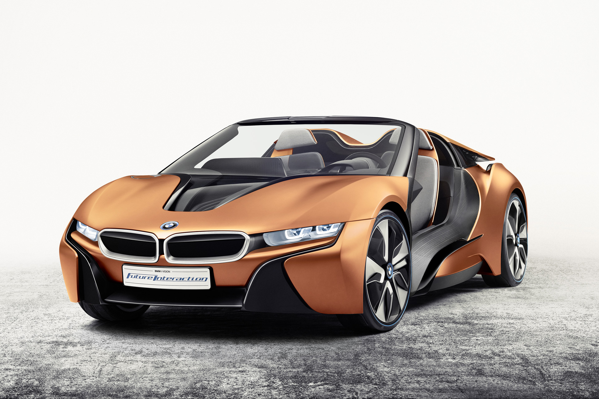 BMW I8 Mpg >> BMW i Future Interaction Concept At CES Hints At i8 Spyder ...