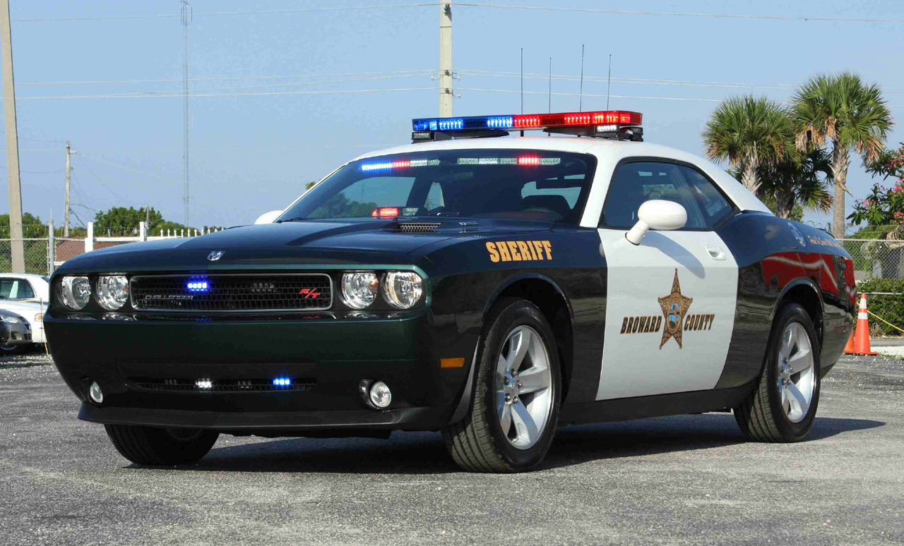 Broward County Sheriff Gets A Dodge Challenger R T