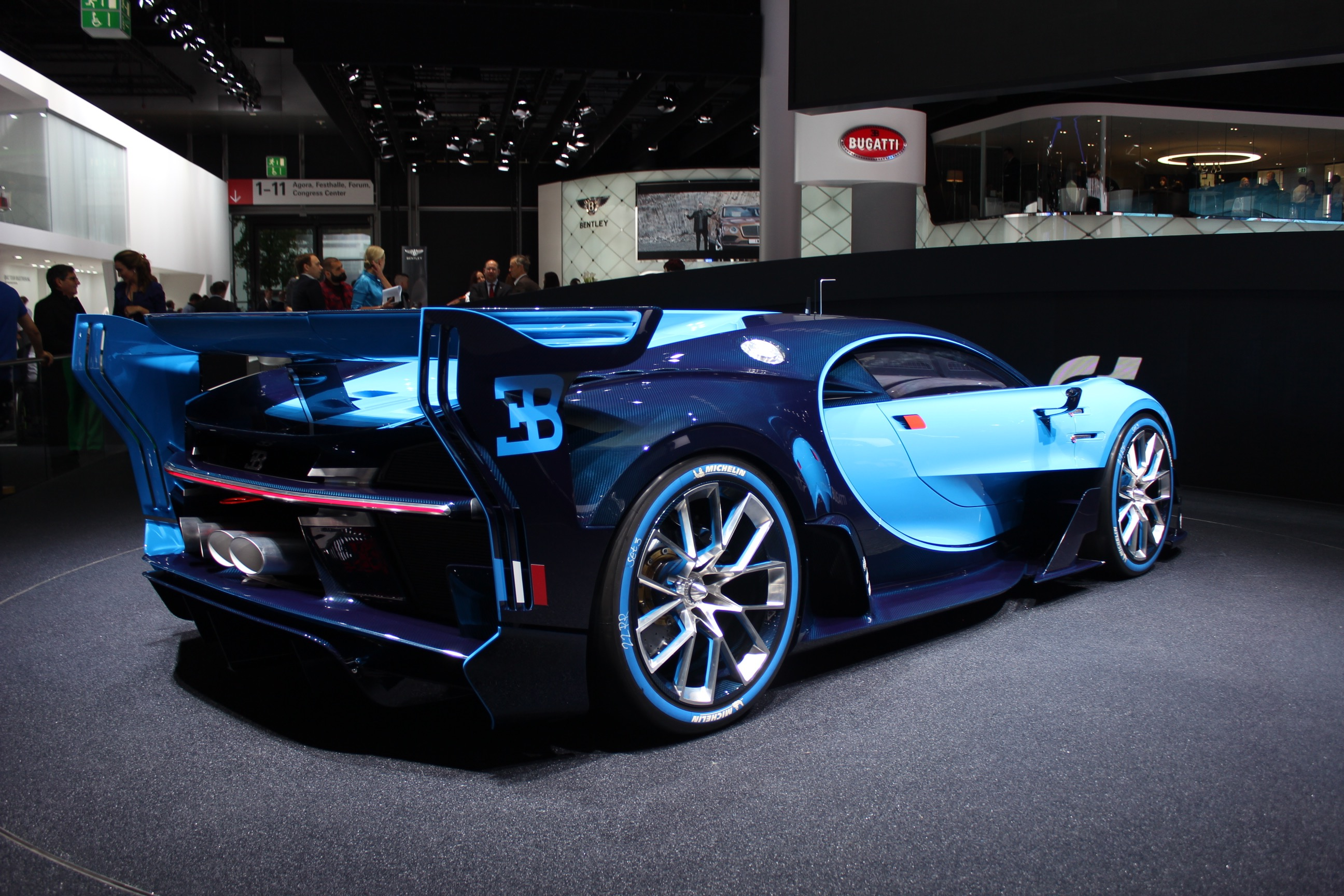 hear the bugatti vision gt concept u2019s engine start up and rev  video