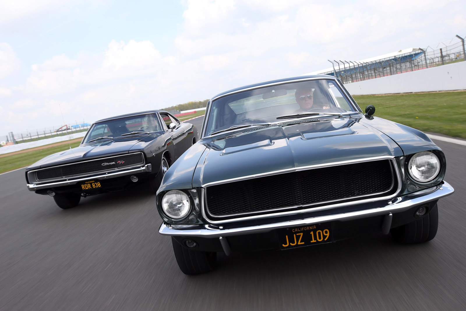 Fans Recreate Bullitt Chase Scene In Silverstone Video