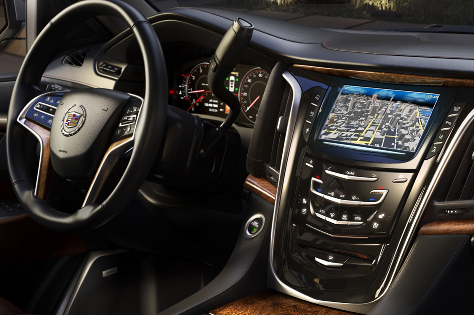 2015 Cadillac Escalade S Interior Revealed In Latest Teaser