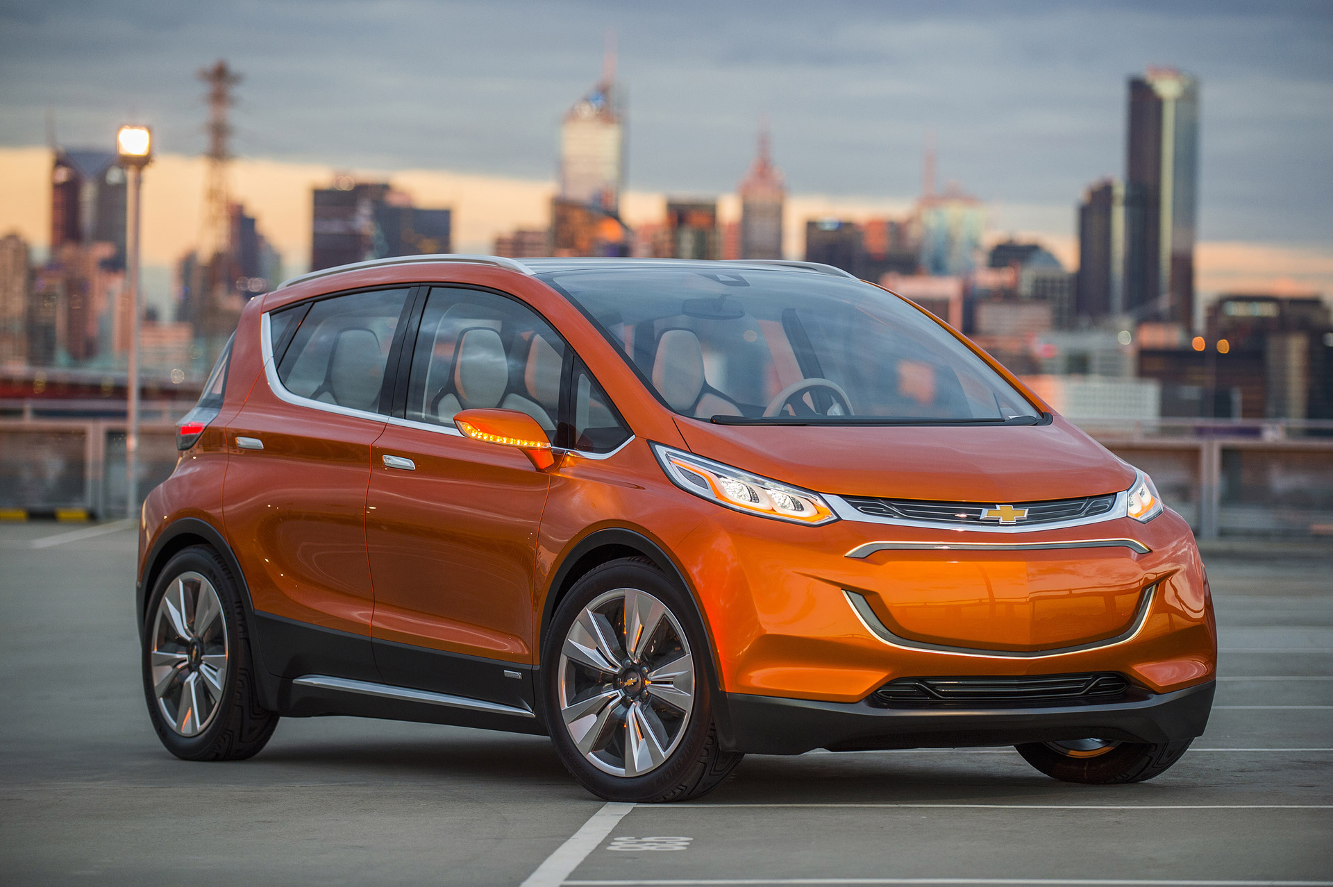 chevrolet bolt ev concept 2015 detroit auto show 100496689. Black Bedroom Furniture Sets. Home Design Ideas