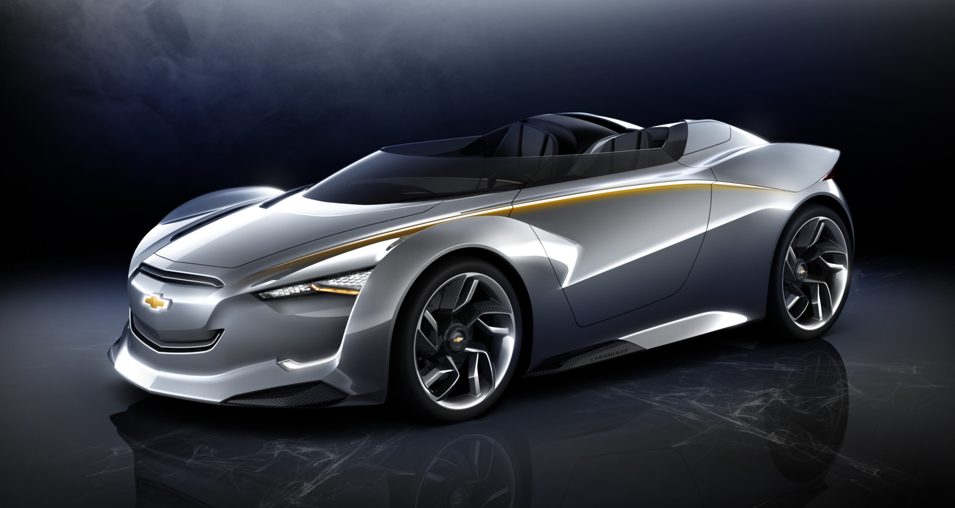 Chevy Miray Hybrid Muscle Car Of The Future Concept