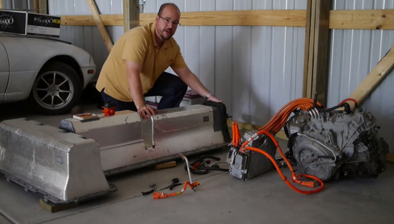 What S Inside Chevrolet Volt Battery Pack And Drivetrain