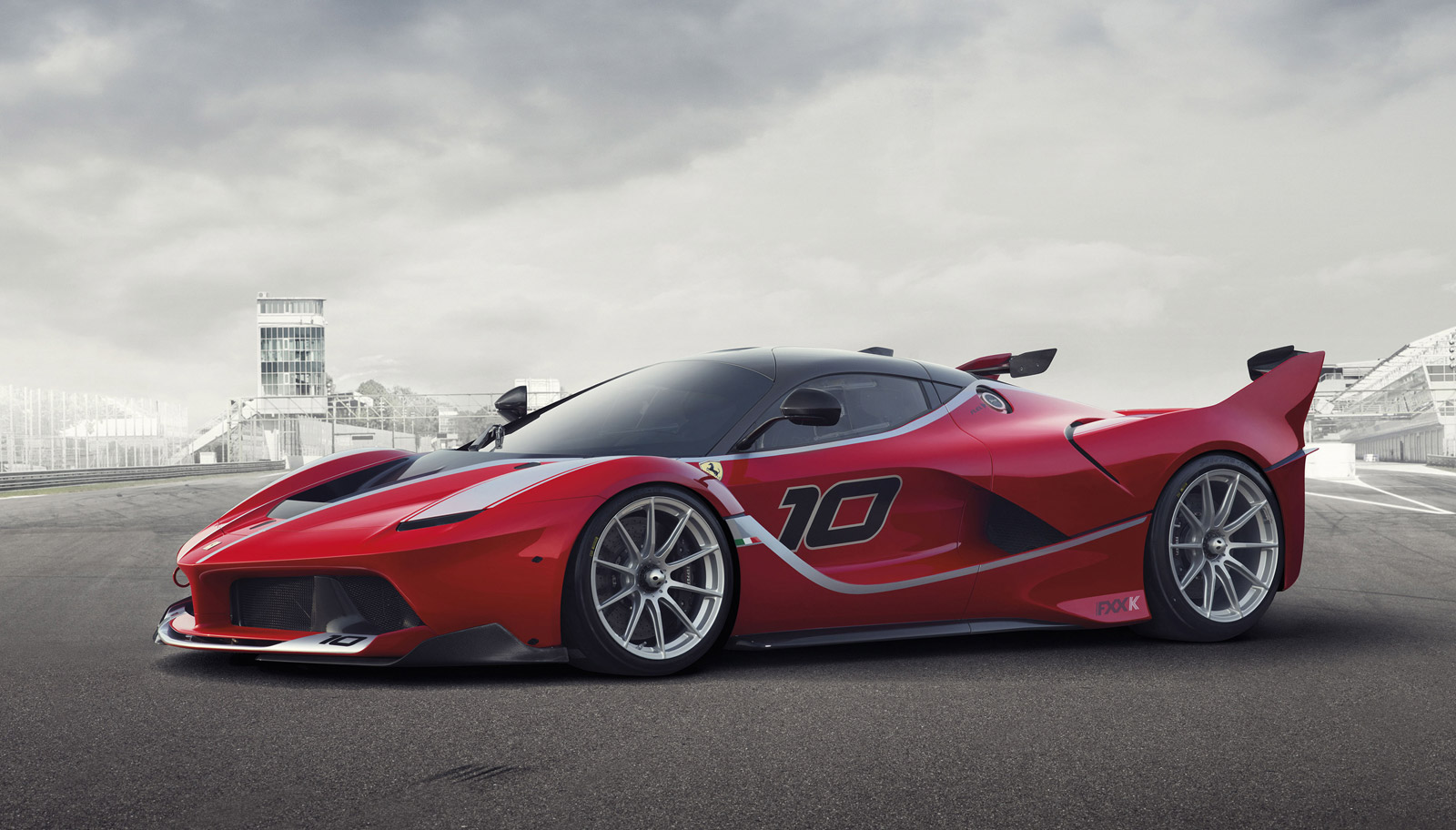 Ferrari Laferrari Fxx K Revealed