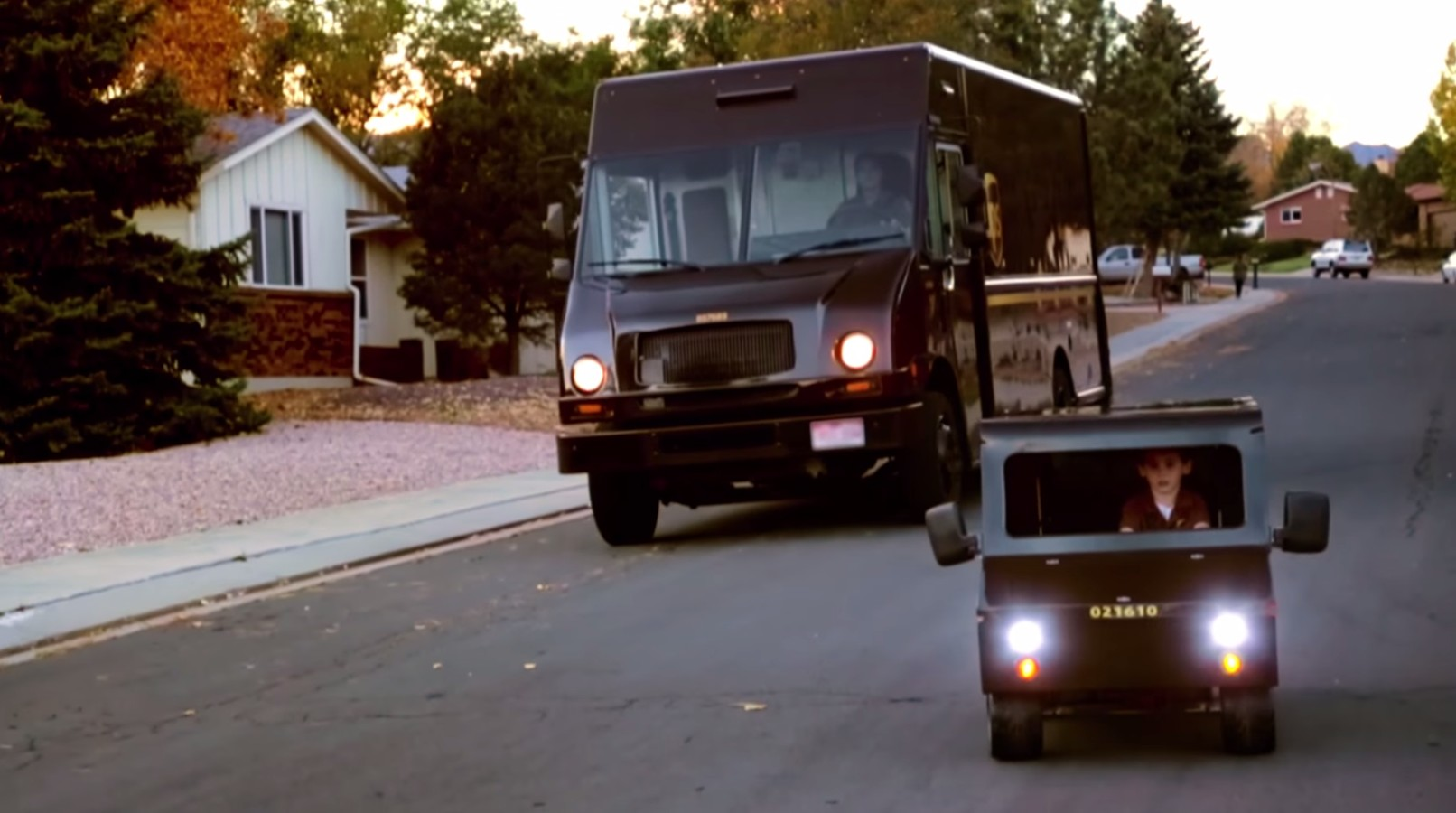 This Ups Loving Kid Gets His Dream Ride Grows Hearts