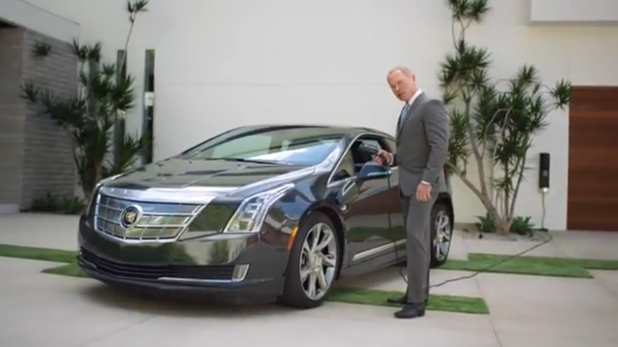 ELR Cadillac Commercial Actor