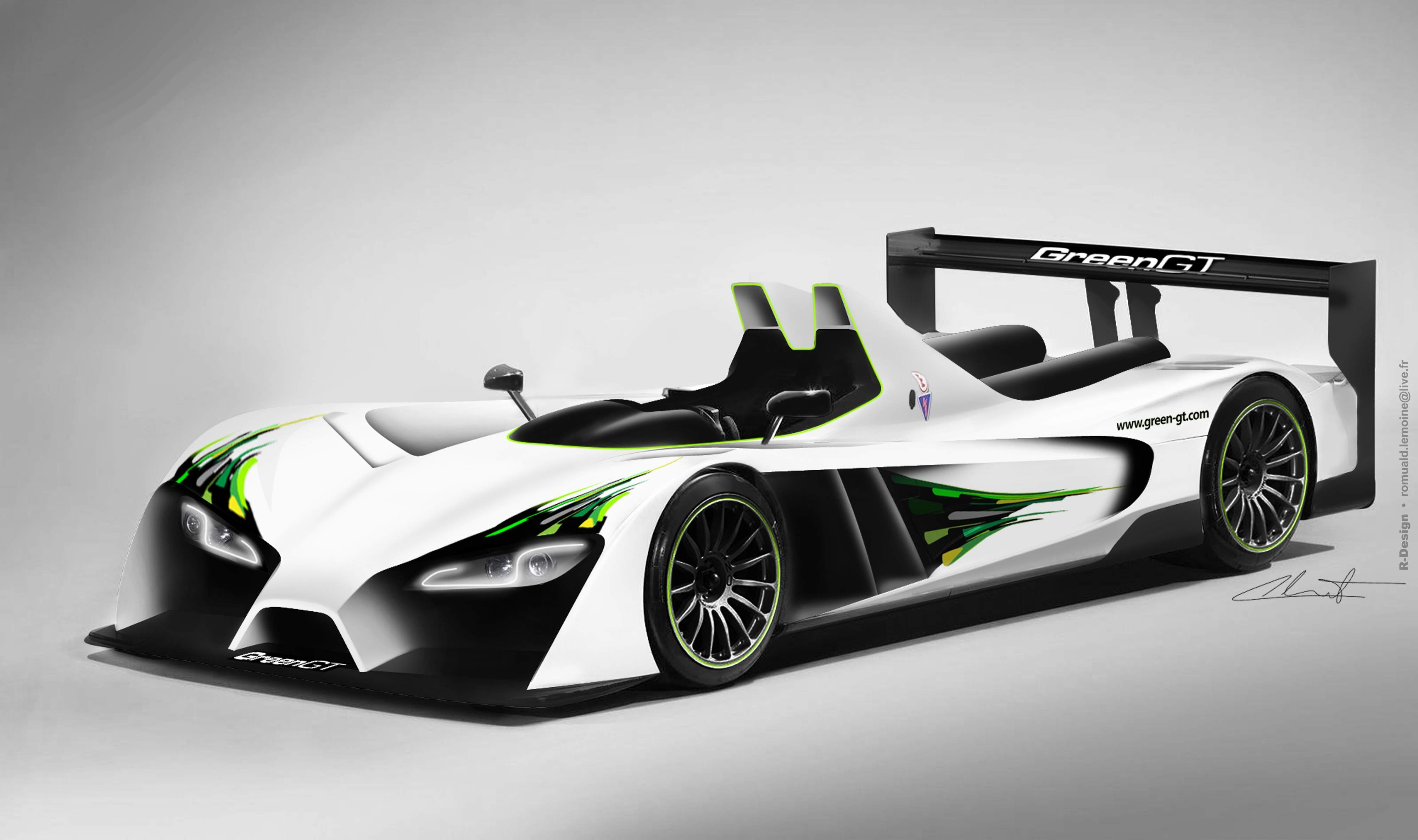 GreenGT LMPH2 Electric Racer To Run 2012 Le Mans: Video