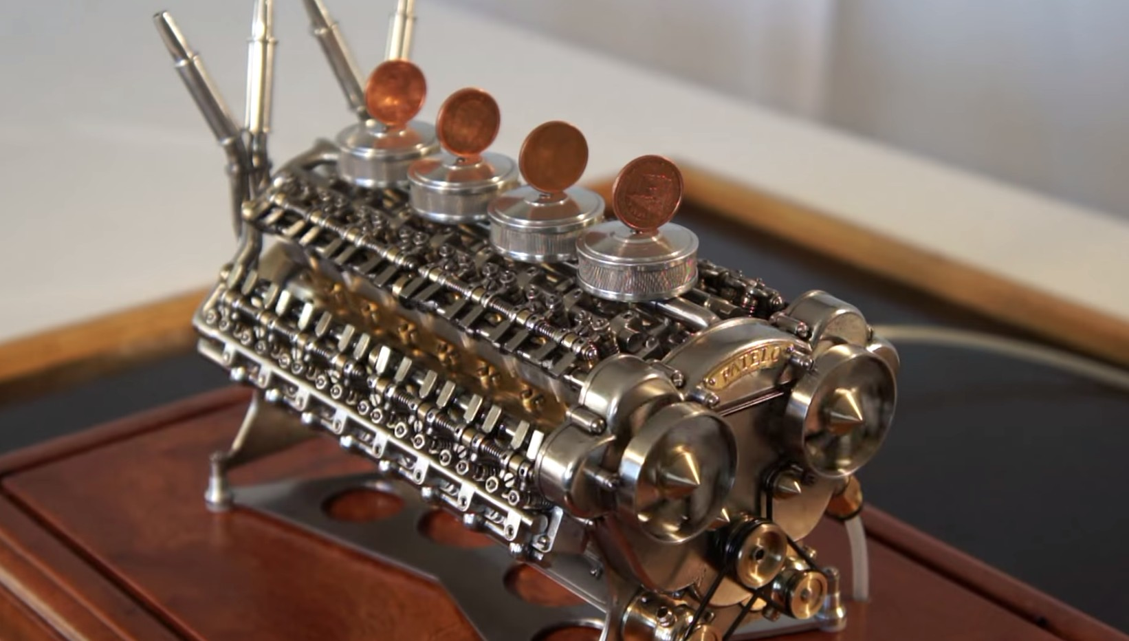 Miniature W-32 Engine Is Mind Blowing: Video