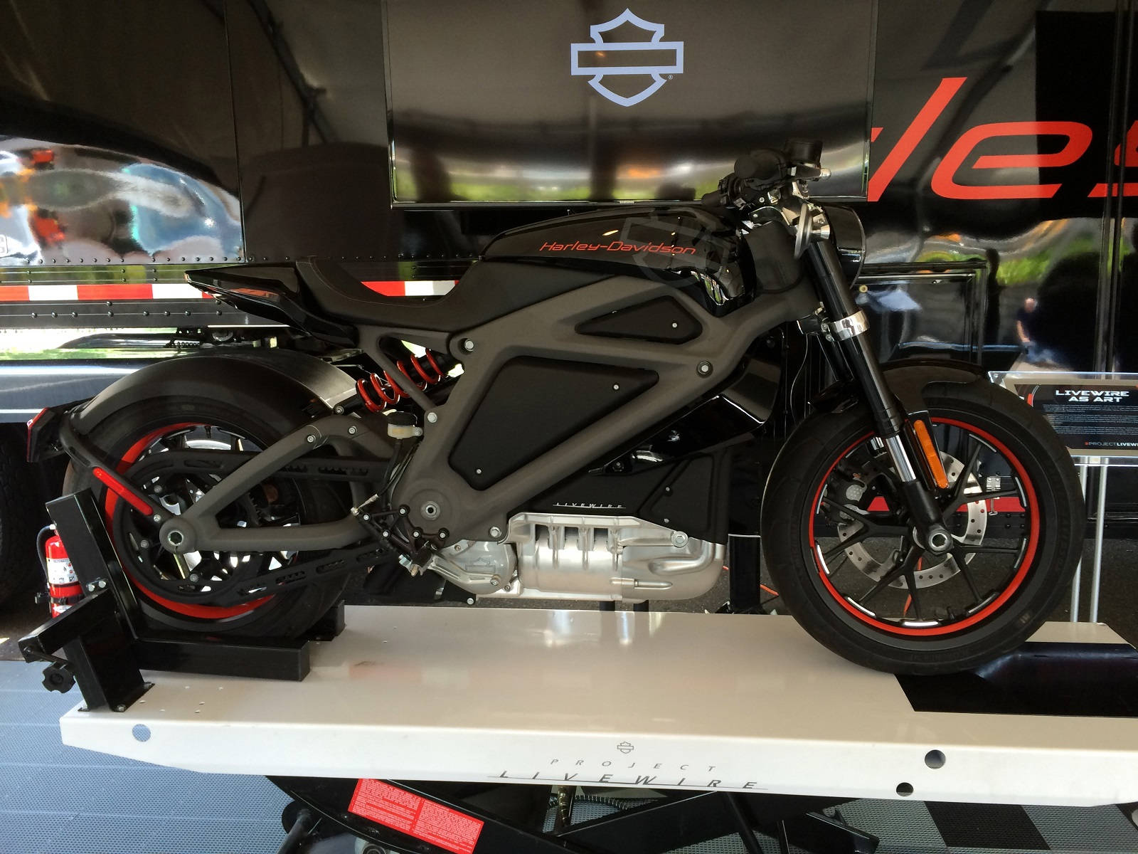 Riding The Harley-Davidson LiveWire Electric Motorcycle: News Video