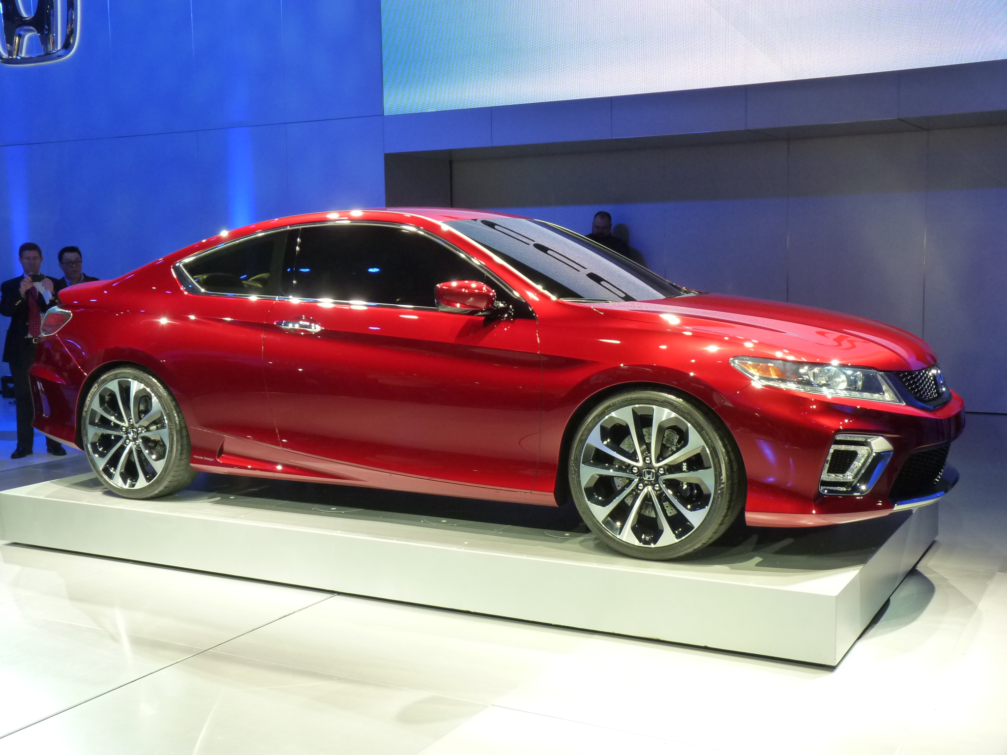 2013 Honda Accord Coupe Concept Video Walkaround