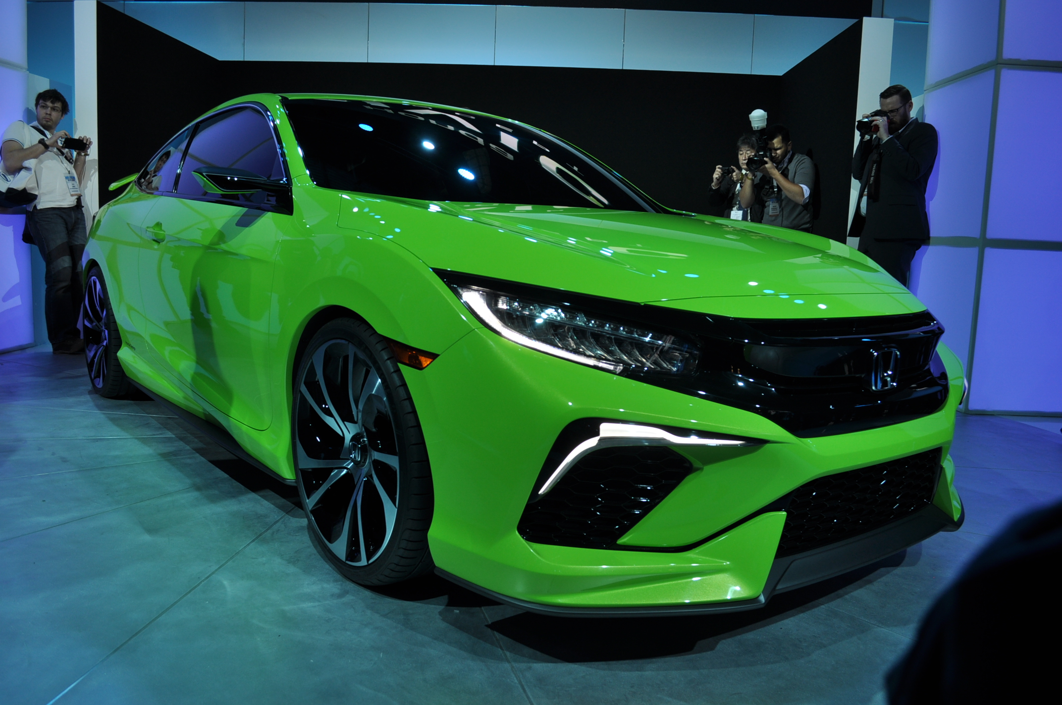 ... Type-R For U.S. At Civic Concept Debut | 9th Generation Honda Civic