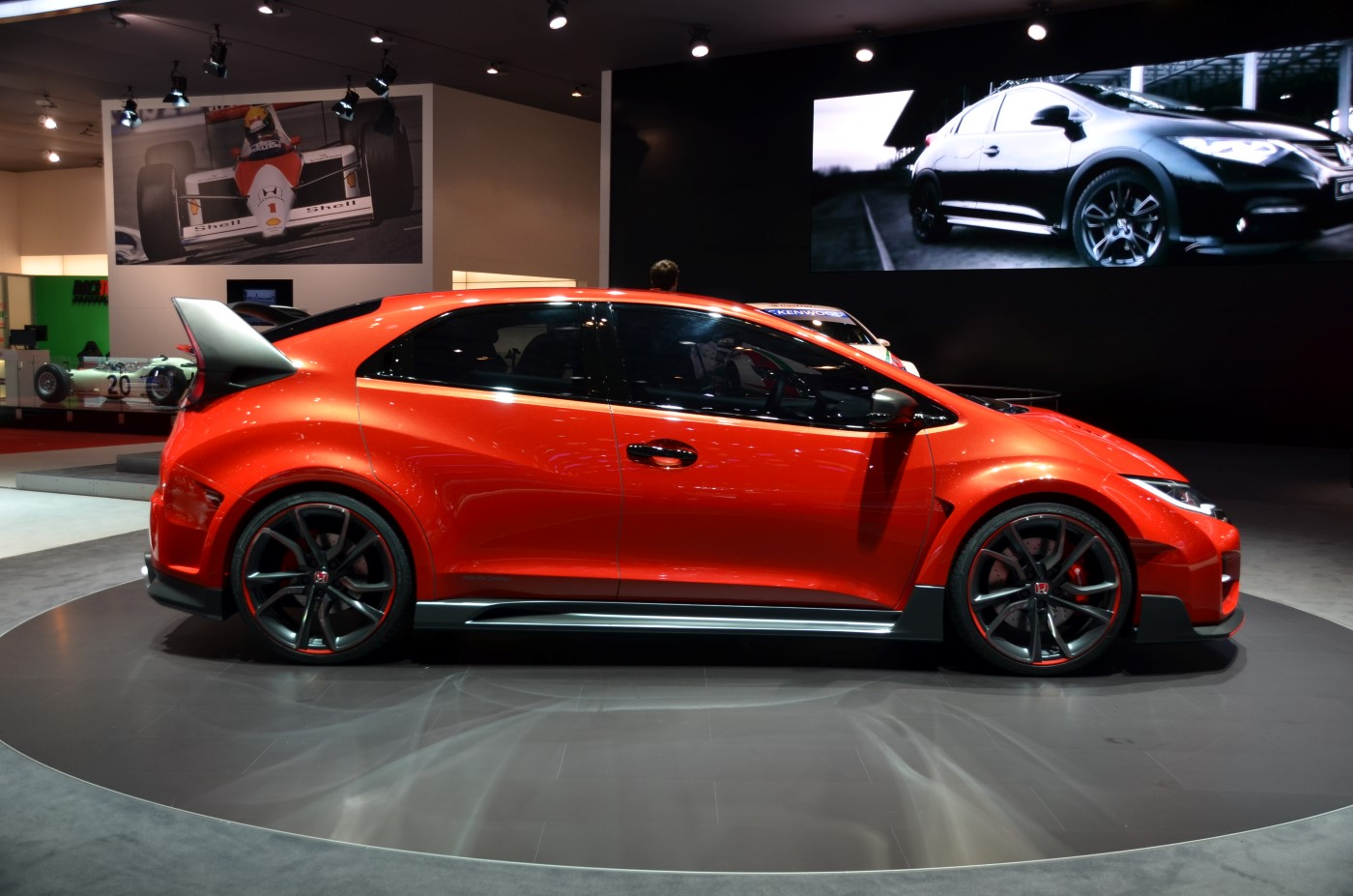 honda civic type r concept 2014 geneva motor show live. Black Bedroom Furniture Sets. Home Design Ideas