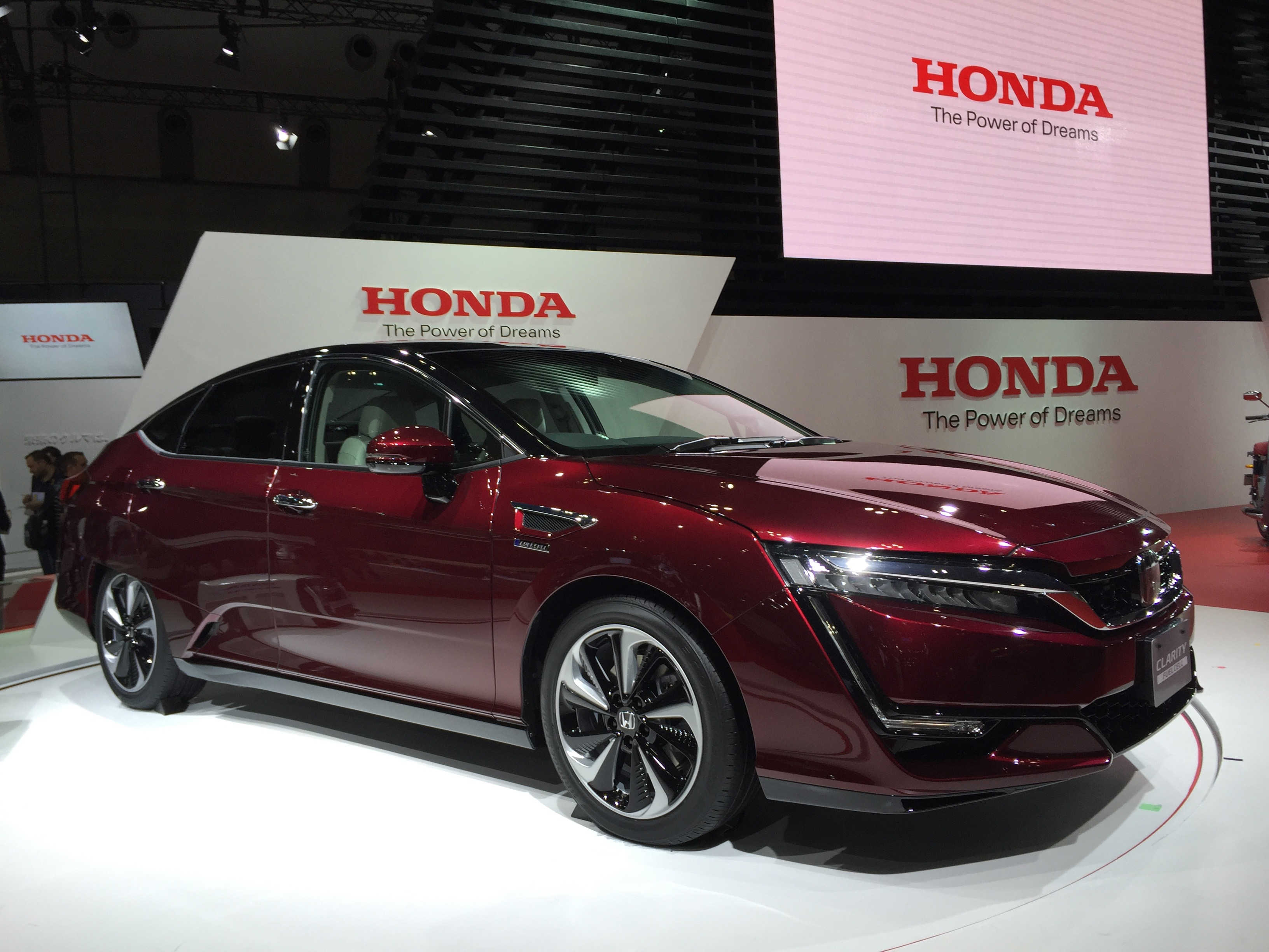 2017 honda clarity review ratings specs prices and. Black Bedroom Furniture Sets. Home Design Ideas