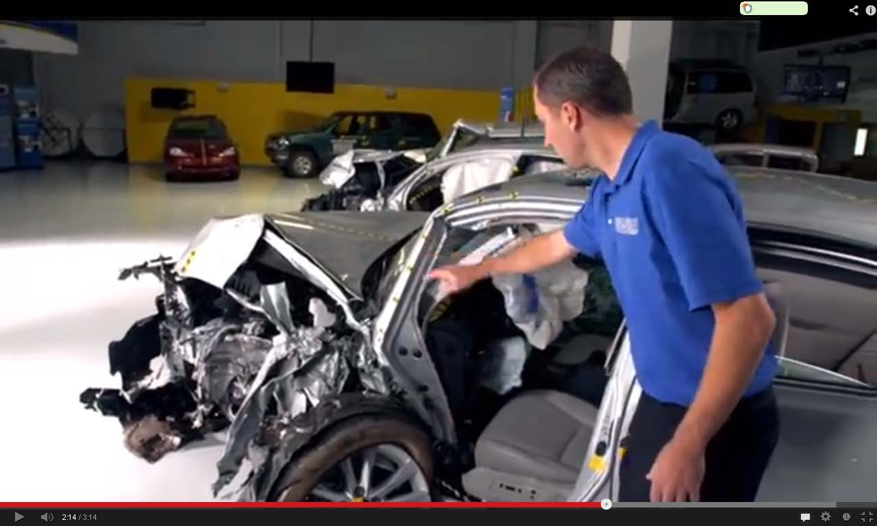 Crash Tests Go Viral In Iihs New Video Series