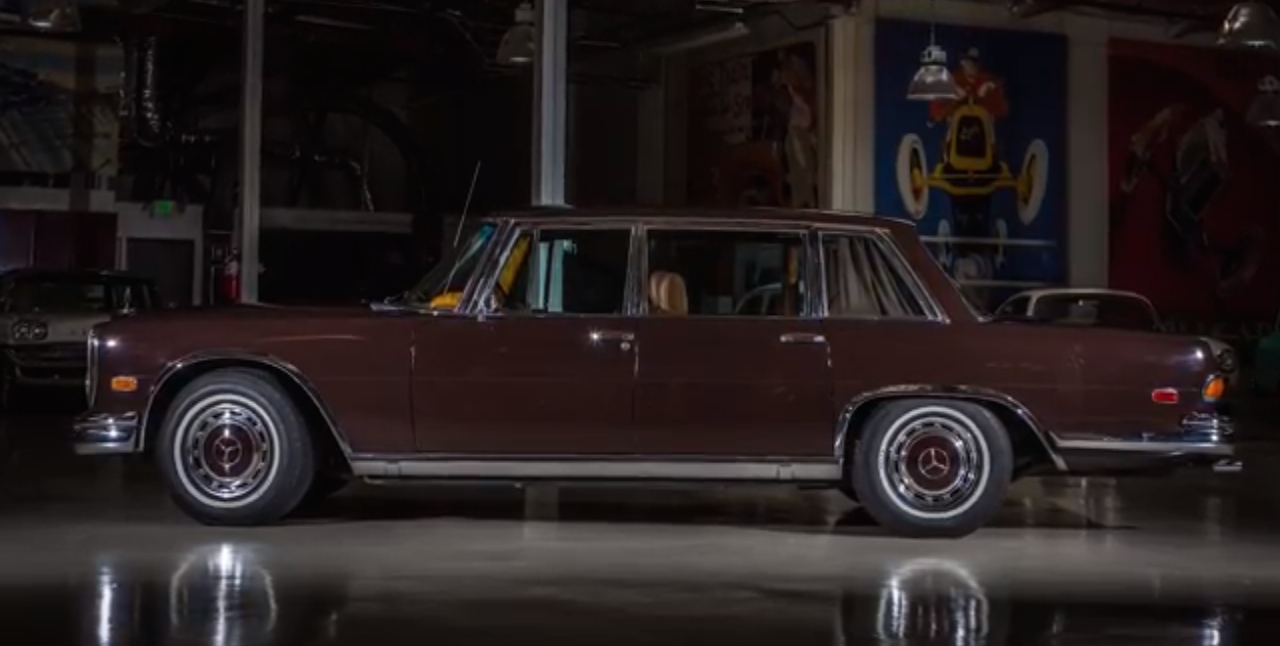 Classic Muscle Cars >> Jay Leno Plays Dictator In His 1972 Mercedes-Benz 600: Video