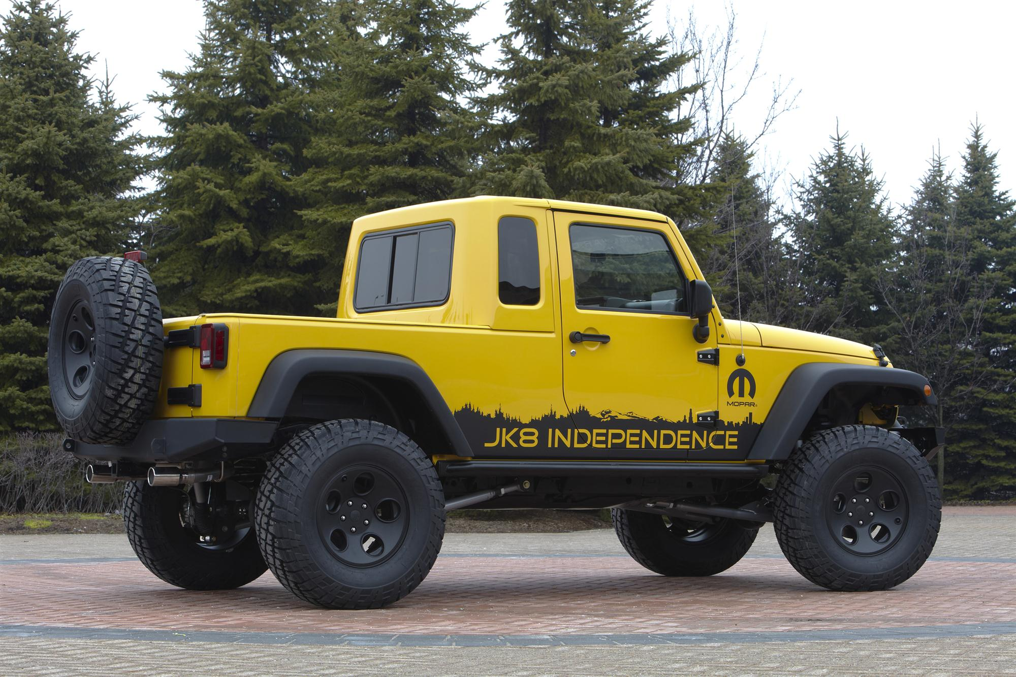 Jeep Jk 8 Independence Pickup Conversion Package 100356007
