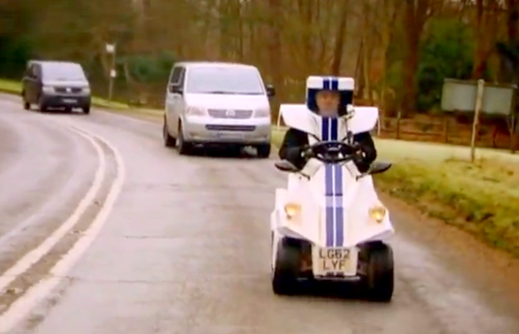 Jeremy Clarkson Invents A Hybrid Microcar The P45