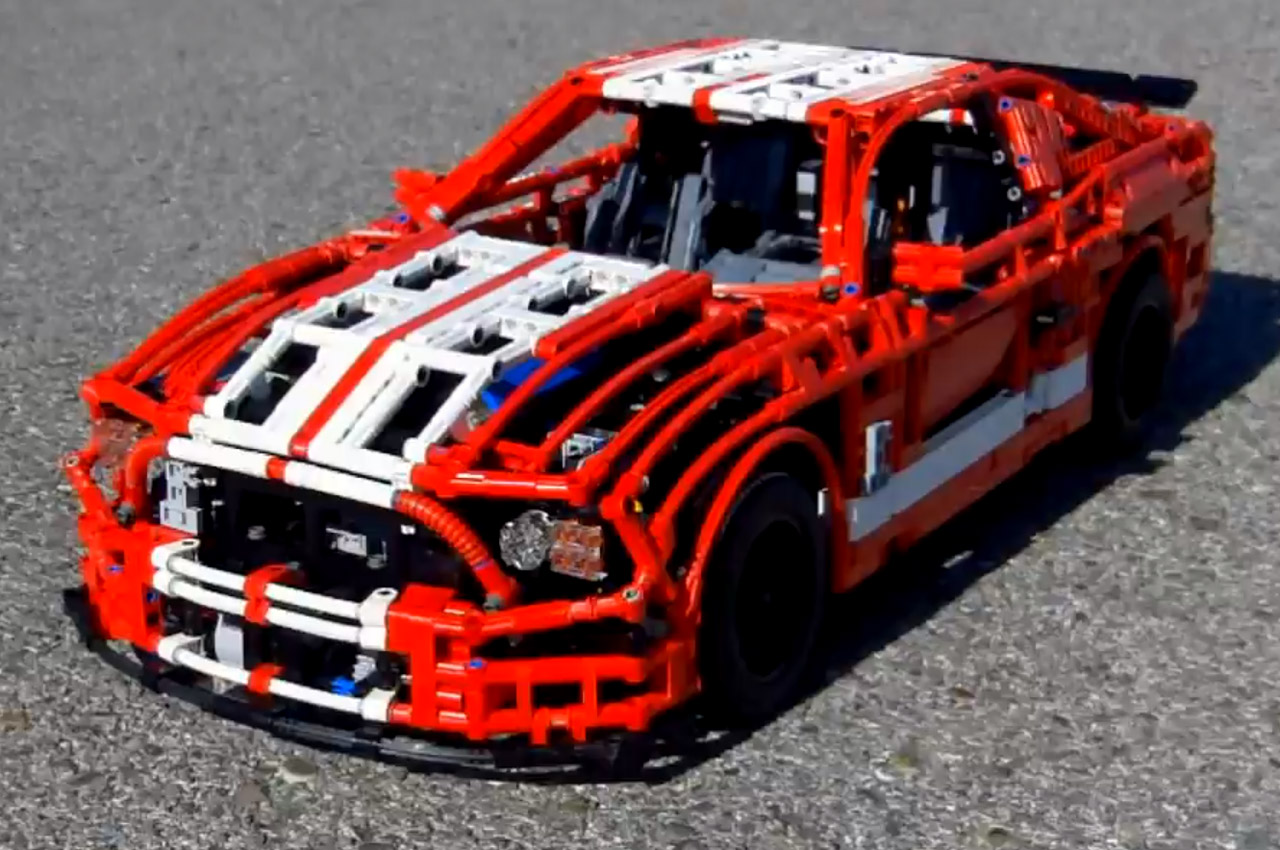 Lego Shelby Gt500 Is No Toy Video