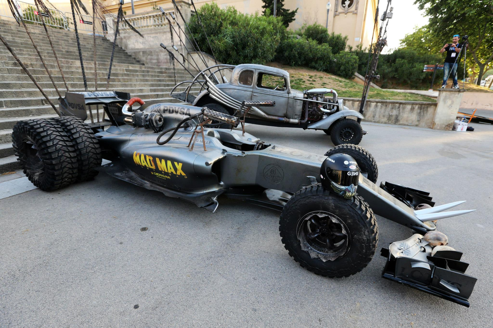Lotus F1 Team Creates Awesome Mad Max Homage F1 Car
