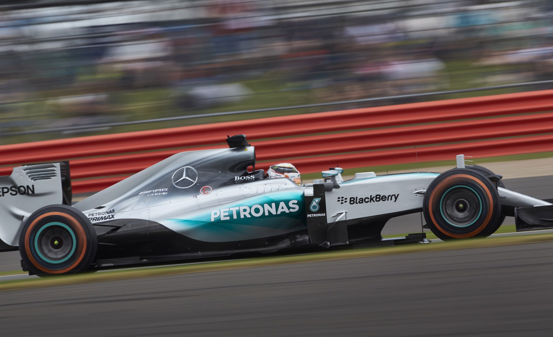 mercedes amg one two finish at 2015 formula one british. Black Bedroom Furniture Sets. Home Design Ideas