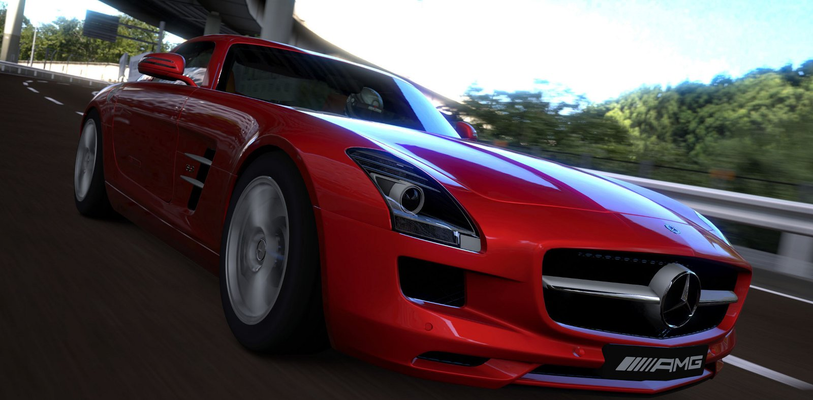 mercedes amg driving academy to feature gran turismo 5 sls amg racing demo. Black Bedroom Furniture Sets. Home Design Ideas