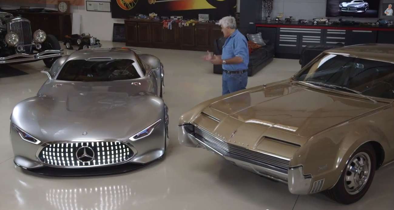 Mercedes amg vision gran turismo lands in jay leno 39 s for Garage amg auto