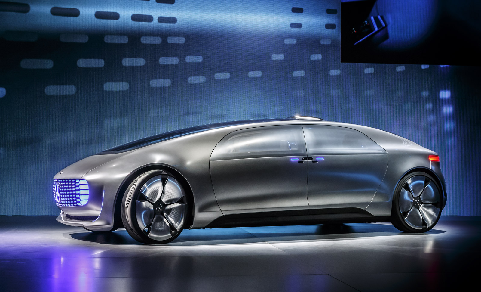 Mercedes Benz F015 Luxury In Motion Concept 2015 Consumer