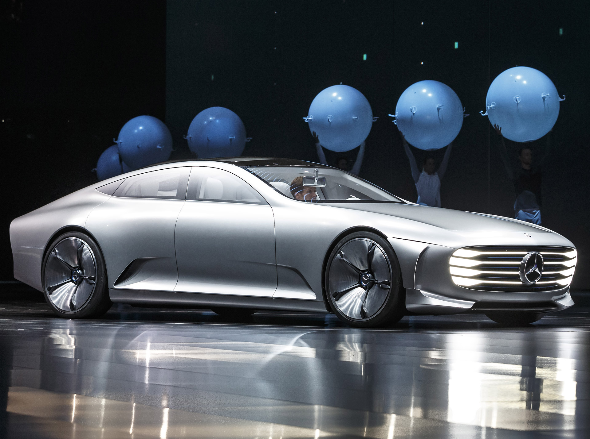 Mercedes electric car platform to spawn four new models for Mercedes benz new model