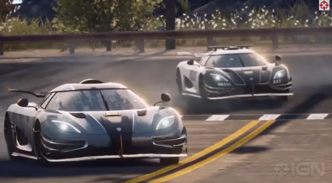 koenigsegg one 1 gets sideways in need for speed rivals trailer video. Black Bedroom Furniture Sets. Home Design Ideas