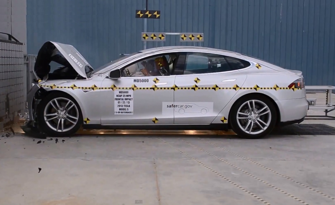 2013 tesla model s crash tests what cars to compare it to. Black Bedroom Furniture Sets. Home Design Ideas