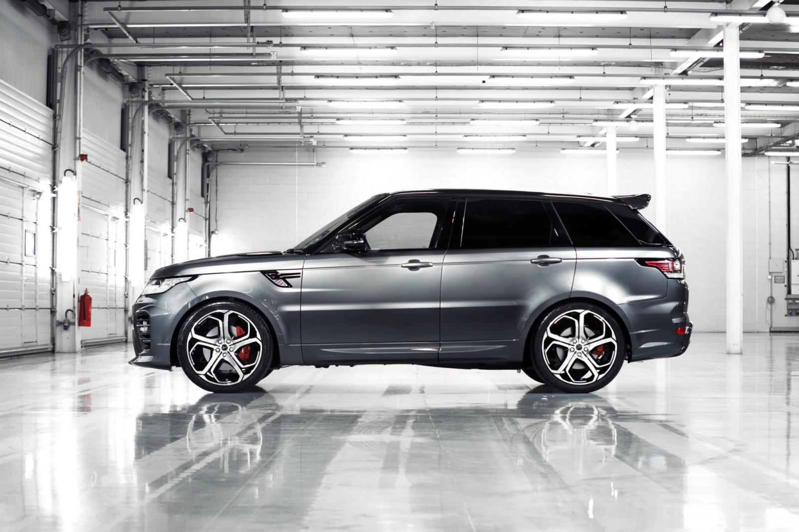 Latest Tesla Software Update >> Overfinch Tunes The Latest Range Rover Sport