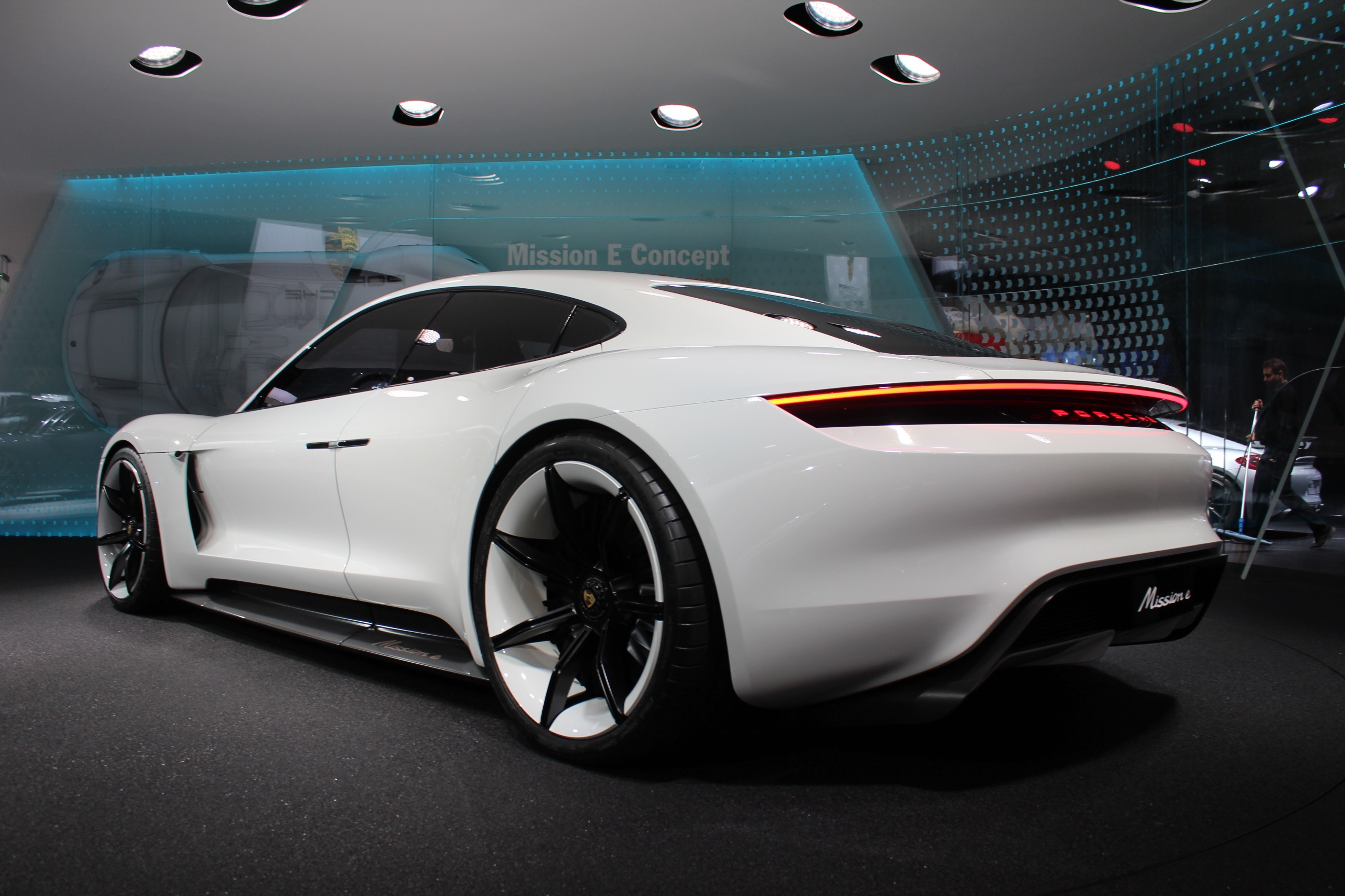 Porsche Design Chief Talks About The Mission E Concept Video