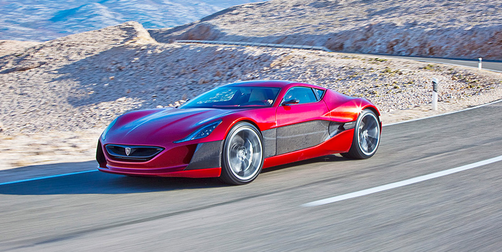 What Does A 1088 Hp Rimac Electric Supercar Sound Like At
